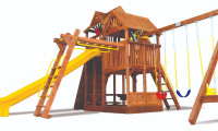 King Kong Clubhouse Pkg III Loaded with Wood Roof